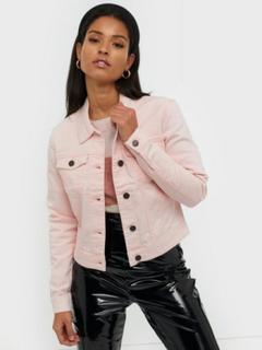 Noisy May Nmdebra L/S Colour Denim Jacket X Denimjakker