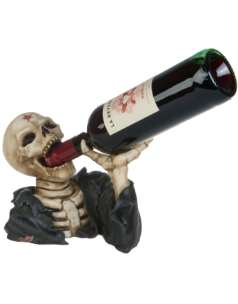 Shot Skull Drinking - 16x26 cm