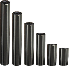 Suleve ™ M3AR2 M3 Aluminiumlegierung Distanzbolzen 8-35mm Schwarz Runde Leiterplatten Abstandhalter Distanzbolzen 10 Stück