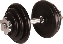 Avento hantel 10 kg svart 41HL