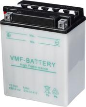 VMF Powersport Batteri 12 V 14 Ah YB14-A2