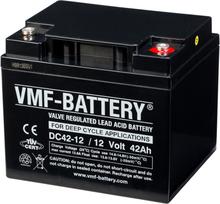 VMF AGM Dybcyklisk Batteri 12 V 42 Ah DC42-12