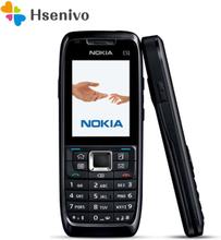Nokia E51 with Camera Refurbished-Original Mobile Phones JAVA WIFI Unlock Cell Phone Refurbished In Stock