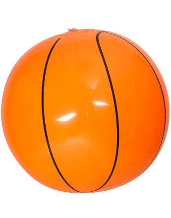 Oppblåsbar Basketball - 25 cm