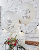 10 st Mr & Mrs Vita Ballonger 30 cm - Bohemian Ros