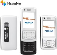 Nokia 6288 refurbished-Original Unlocked 6288 Slide phone 2.2 ' inch GSM 3G mobile phone with FM Radio free shipping
