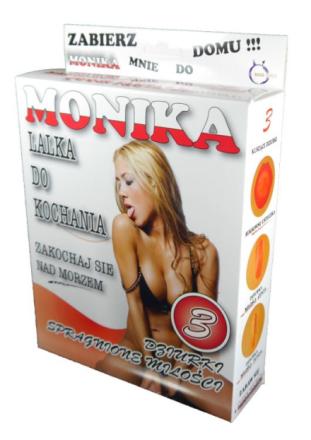 Dmuchana Lalka Polska Dziewczyna Monika 3 Otwory   100% DYSKRECJI   BEZPIECZNE ZAKUPY