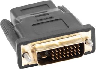 Lanberg Adapter HDMI Hun til DVI-D Han