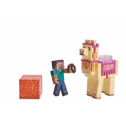 Minecraft Steve With Llama Figure Action Figure Set Series 4 - wupti.com