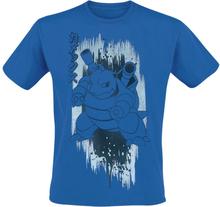 Pokémon - Blastoise -T-skjorte - blå