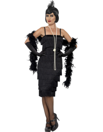 Catherine The Gatsby Flapper Damkostym