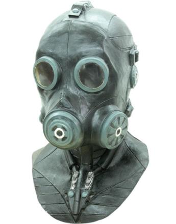 Gassmaske - Heldekkense Luksus Latex Maske