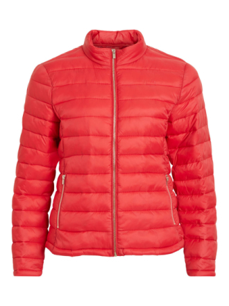 VILA Padded Jacket Women Red
