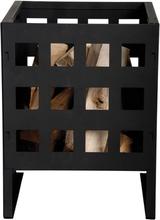 Esschert Design firkantet bålkurv FF87