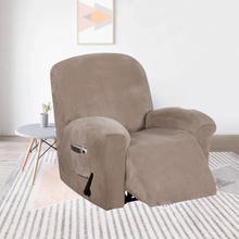 Wasserdichte Liege Couchbezug All-inclusive Sofabezug Sitzelastizität Stretch Anti-Rutsch-Möbel Schonbezüge Stuhlschutz
