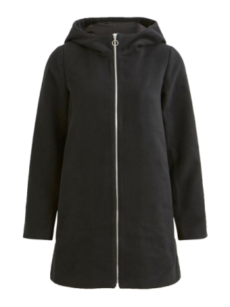 VILA Simple Winter Jacket Women Black