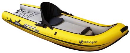 Sevylor Reef 240 vene , keltainen/musta 2019 Kumiveneet