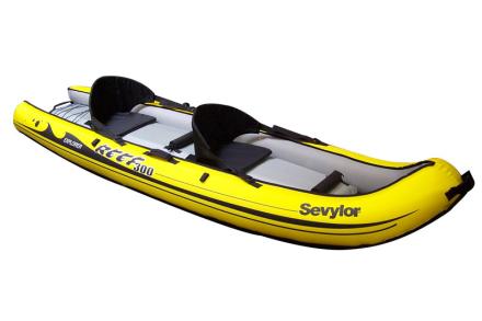Sevylor Reef 300 Båd gul/sort 2018 Gummibåde