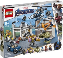 76131 LEGO Super Heroes Avengers Kasernestrid