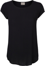 VERO MODA 2-pack Soft Short Sleeved Top Women Black