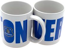 Everton mugg wordmark