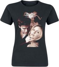 Buffy - The Vampire Slayer - Angel -T-skjorte - svart
