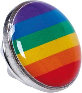 Regnbuefarget Pin 1,5 cm