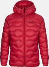 Helium Hood Jacket Men Punainen XL