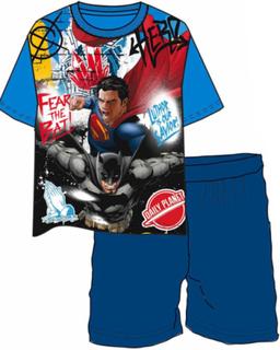 Superman vs Batman Comic Pysjamas til Barn