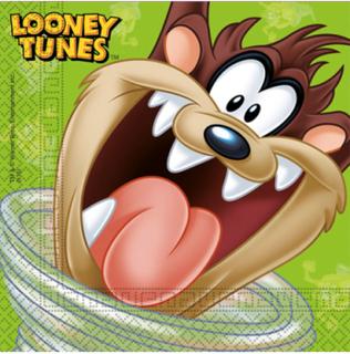 20 stk Servietter 33x33 cm - Looney Tunes