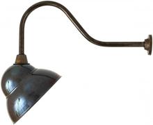 Novo Væglampe 47 x 24 cm 1 x E27 - Antik messing