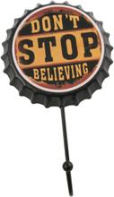 Dont Stop Believing Kapselkork med Krok 10 cm