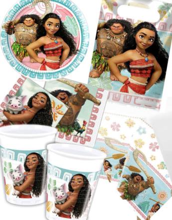 Festförpackning för 16 Personer - Vaiana Disneys Moana