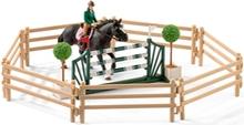 Schleich 42389 Rideskole med Riddere og Hester