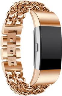Fitbit Charge 2 stainless steel watch strap- Rose Gold
