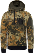 The North Face Men's Drew Peak Pullover Hoodie Herr Tröja Grön M