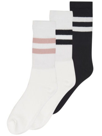 ONLY & SONS 3-pack Tennis Socks Men White
