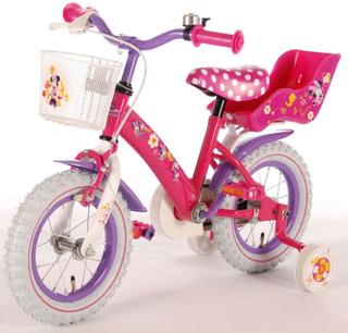 Minni Mus Barnesykkel, 12 tommer - Disney Minnie Mouse sykkel 31226