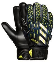 adidas Keeperhanske Predator Match Fingersave Superlative - Sort/Blå/Gul Barn