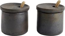Muubs - Hazel Salt og Pepper, Teracotta
