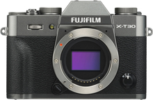Fujifilm X-T30 Spiegellose Digitalkamera - Charcoal Silber (Body Only) (International Ver.)