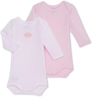 Petit Bateau2-pack Body Pink/White3 mån
