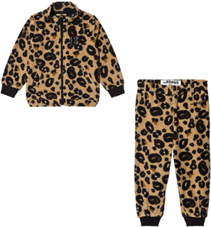 The BRANDPakke The BRAND Fleece Genser + Fleece Bukse Leopard