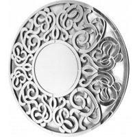 Lustro dekoracyjne Altea 100x100 – okrągłe z ażurową ramą