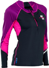 Scubapro Jewel Rash Guard Ls C-flow Women's U50 Badkläder Svart M