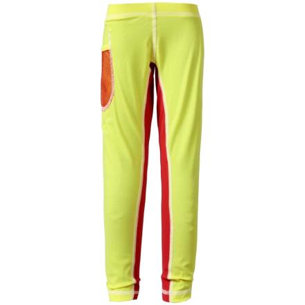 Didriksons Kid's Coast UV Pants Barn Badkläder Gul 140