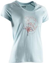 Urberg Tiveden Merino Wool Tee Women Dam T-shirt Blå L