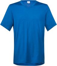 Bergans Bloom Wool Tee Herr T-shirt Blå XL