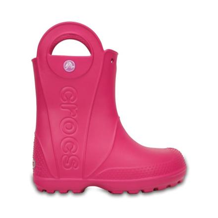 Crocs Handle It Rain Boot Barn Gummistövlar Rosa 25-26