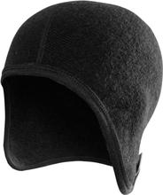 Woolpower Helmet Cap 400 Herre luer Sort OneSize